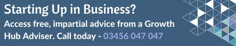Starting Up in business. Access 1-2-1 impartial advice and support from an Adviser. Call 03456 047 047