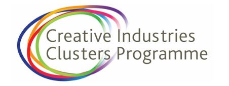 creative industries clusters programme logo