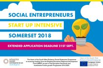 Somerset Social Entrepreneurs: Start Up Intensive 3 Day Course