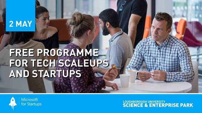Microsoft | Free Programme for Tech Scale-Ups and Start-Ups