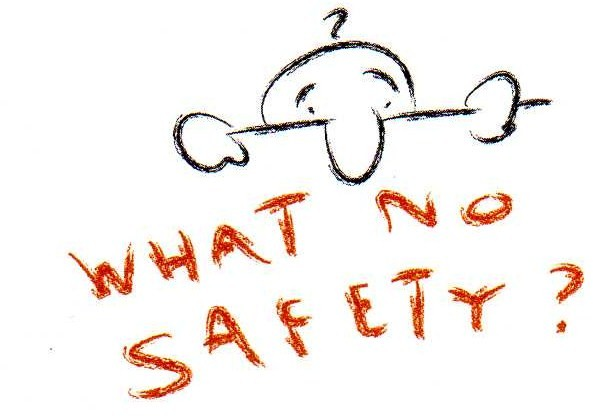 What No Safety logo