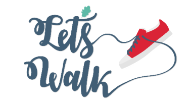 Lets Walk logo